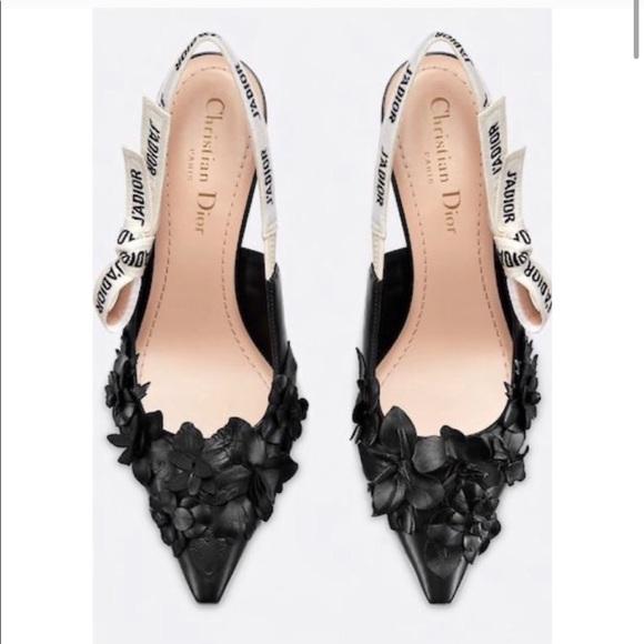 Christian Dior J'Adior Flower Heels Sz 36 (6)